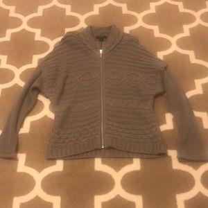 Nine West Jeans Sweater Jacket